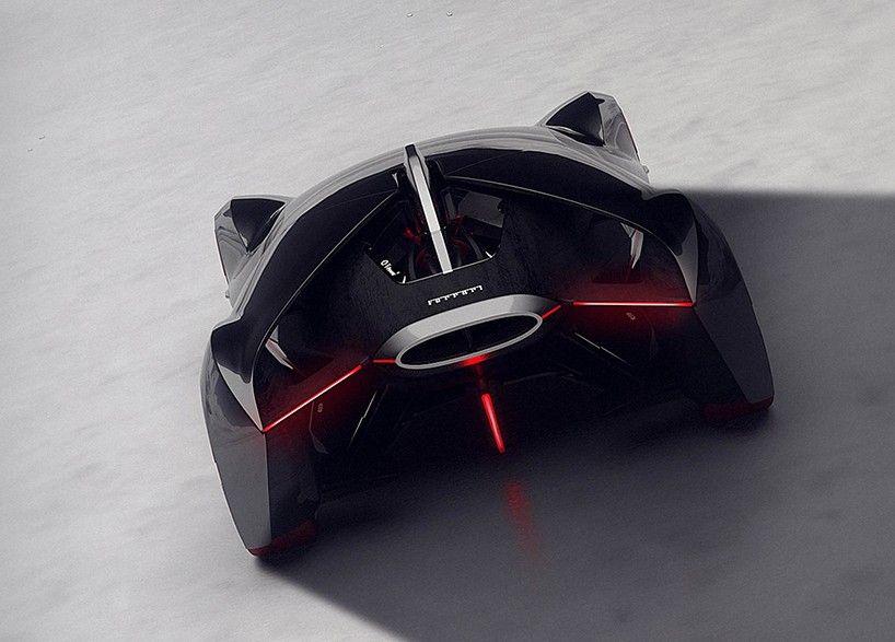 2040 Manifesto Concept Car by ISD-rubika Wins Ferrari Design Challenge Competition