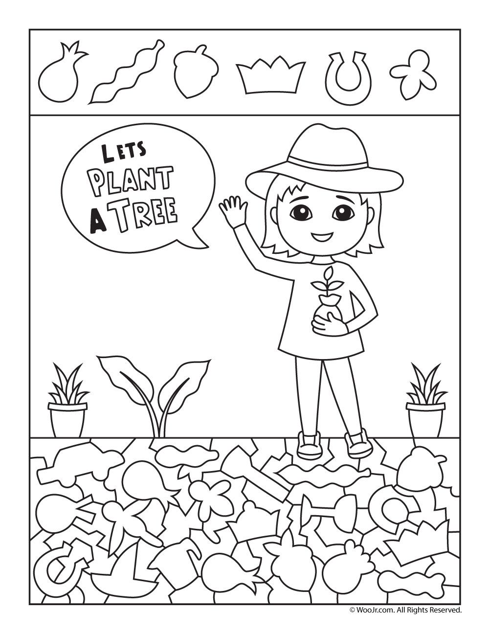 Tree Planting Hidden Picture Game Woo Jr Kids Activities Hidden Pictures Trees To Plant Hidden Pictures Printables [ 1296 x 1000 Pixel ]