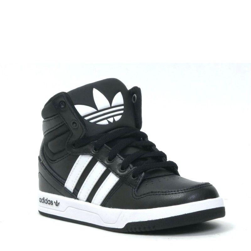adidas Originals ZESTRA Sneakers hoog whitecore black