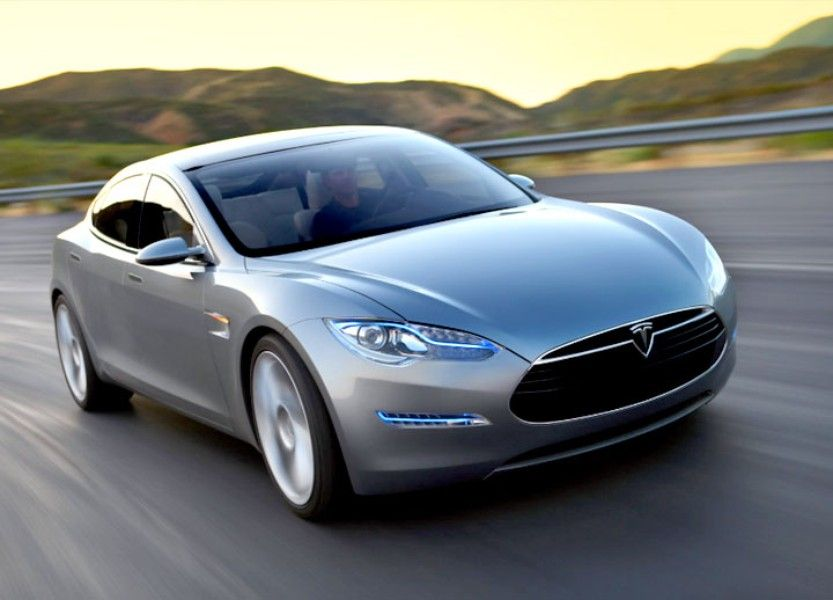 2013 Tesla Model S Best electric car, Tesla model s