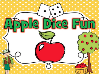 10 Apple themed Math stations.