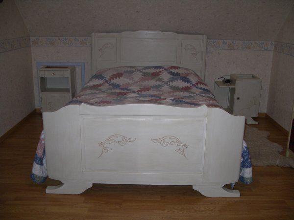 Une ancienne chambre a coucher relooker la chambre - Relooker un lit ancien ...