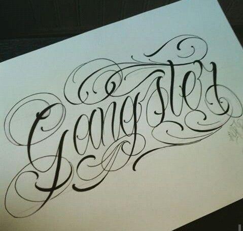 Resultado De Imagen Para Tipografia Letra Chicana Calligraphy