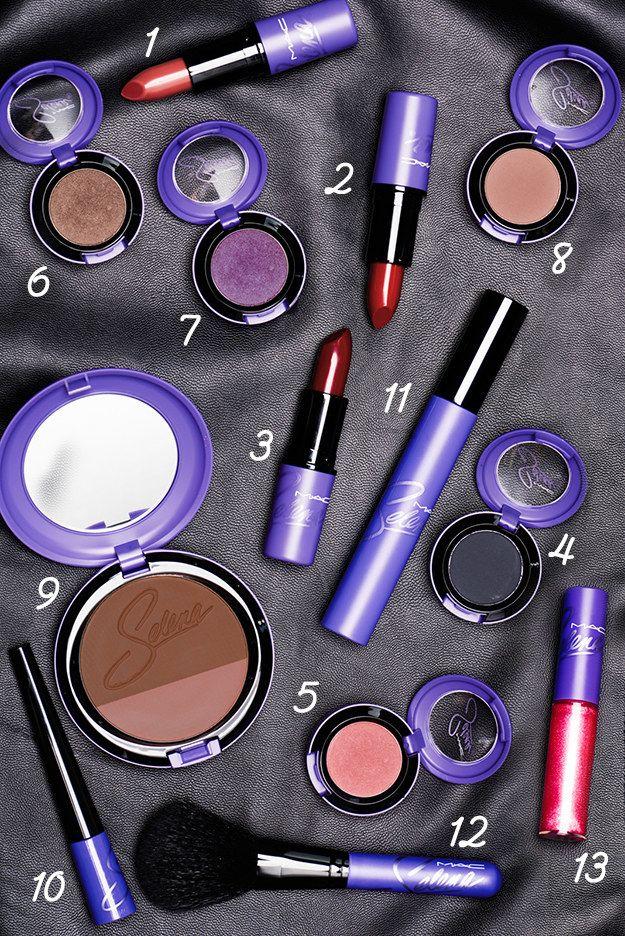 Here's What MAC's Selena Makeup Line Looks Like On Actual