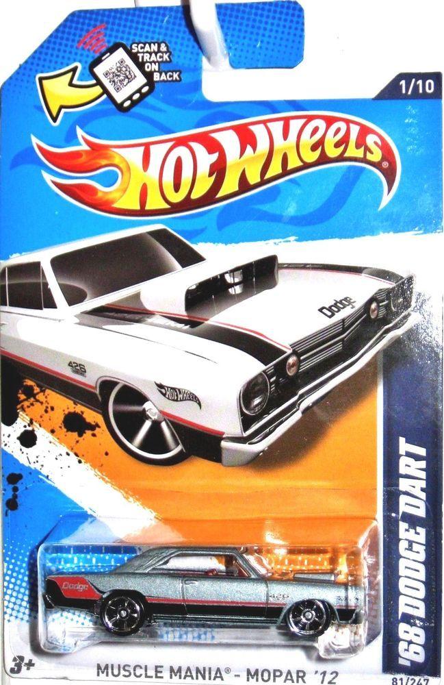 Hot Wheels Dodge Dart Diecast Car Dodge Dart Dodge