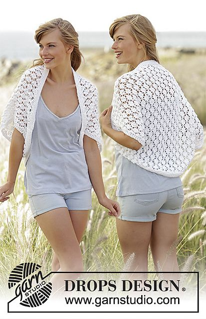 Ravelry: 169-14 Always Cute pattern by DROPS design   for summer ...