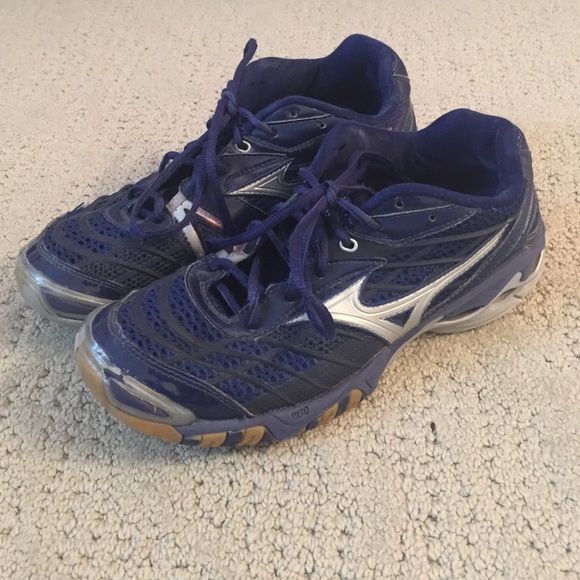 mizuno volleyball shoes navy blue 2019
