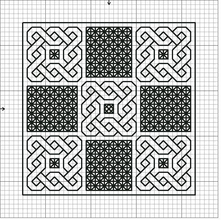 Blackwork embroidery free patterns love
