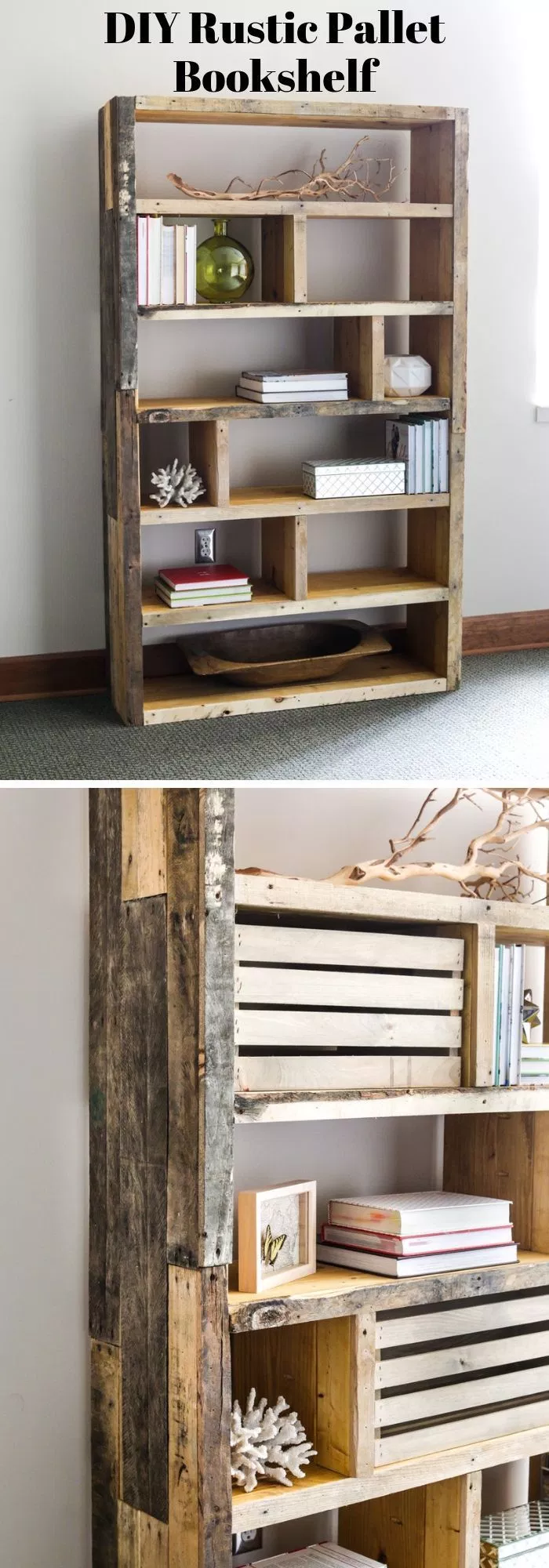 Photo of 28+ Best DIY Bookshelf Ideas & Plans For 2019