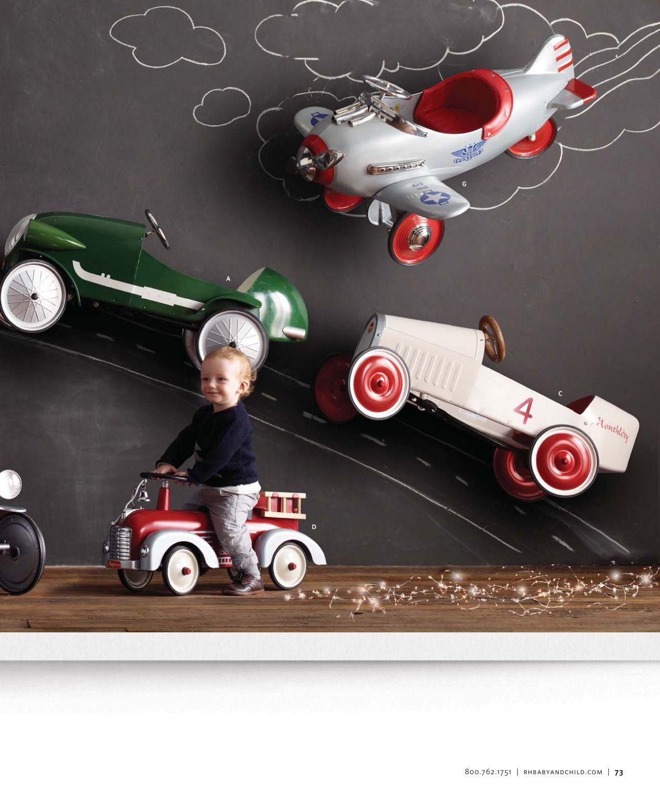 Toys car for child   Holiday Catalog  Restoration Hardware Baby u Child  Catalog