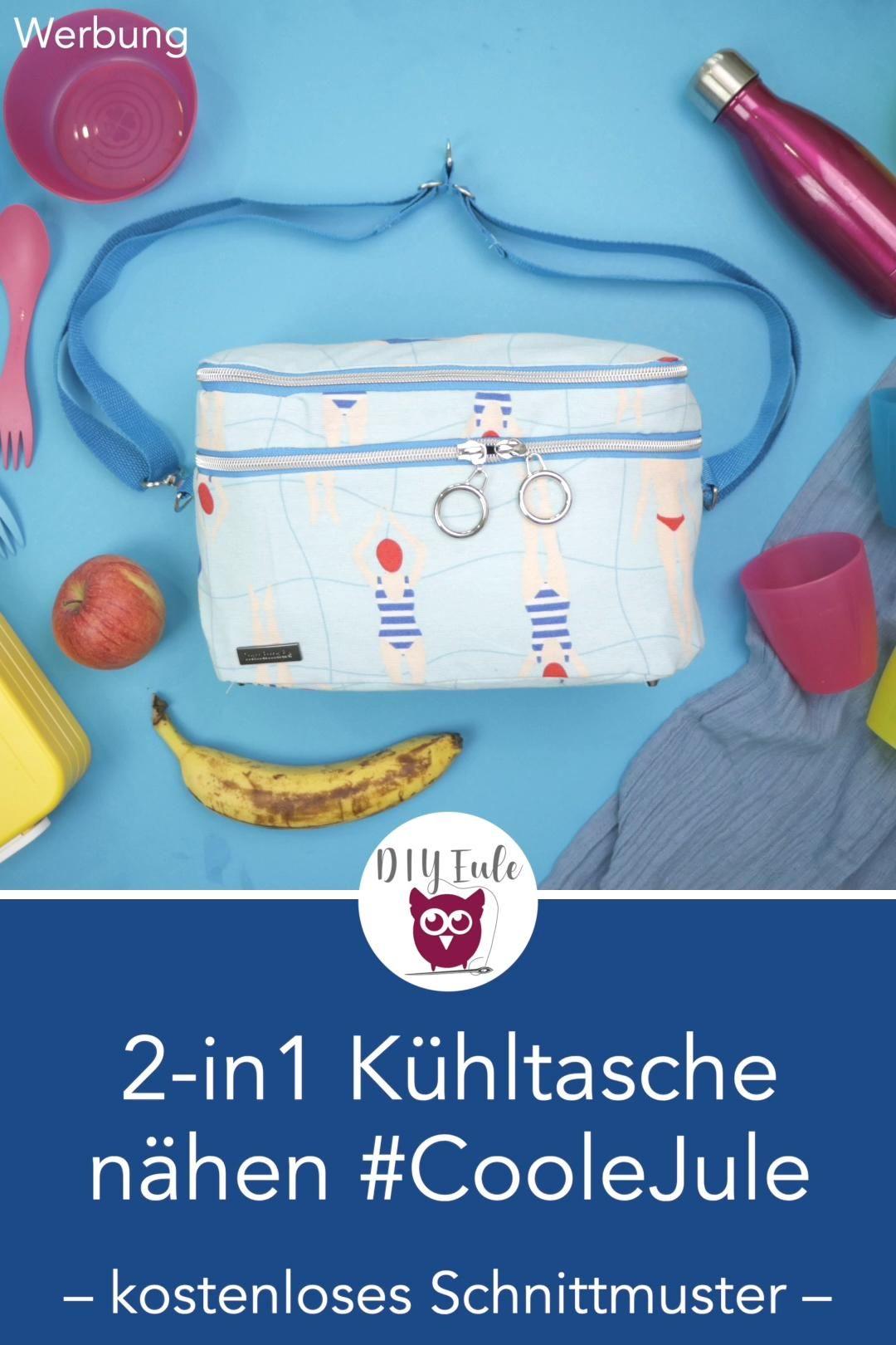 Photo of 2-in-1 Kühltasche nähen mit kostenlosem Schnittmuster