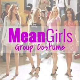 I put together this guide for 2 - 6 people to make a seriously fetch Mean Girls Group Costume for Halloween.