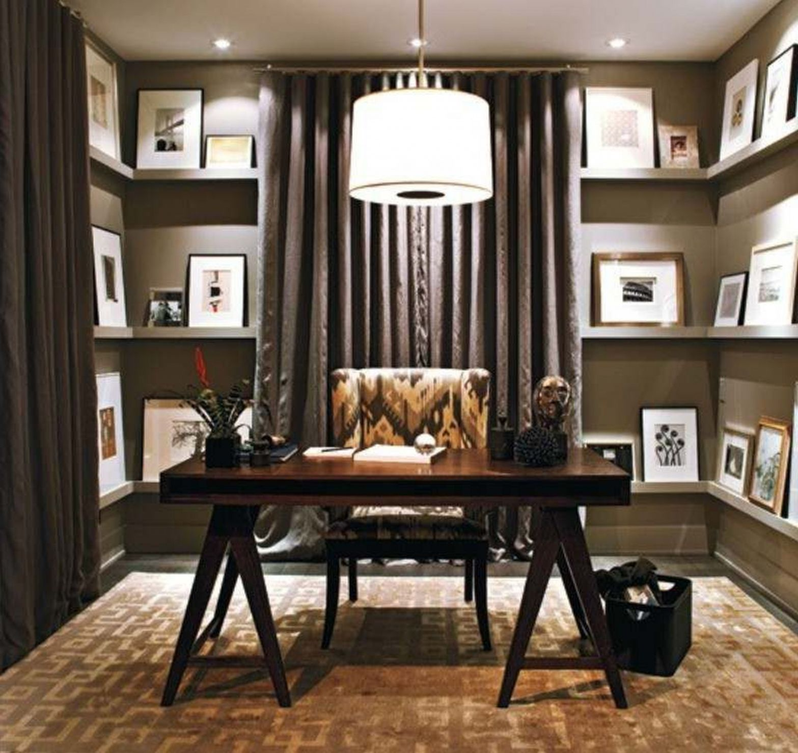 small home office furniture ideas rustic home office
