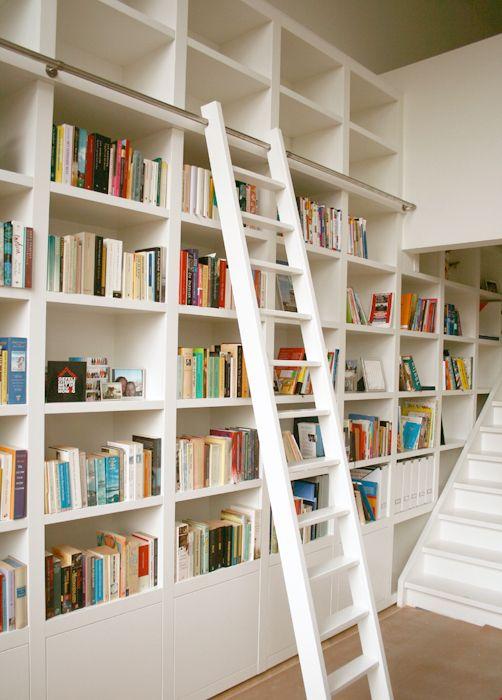 boekenkast met ladder - boekenkast | Pinterest - Ladders