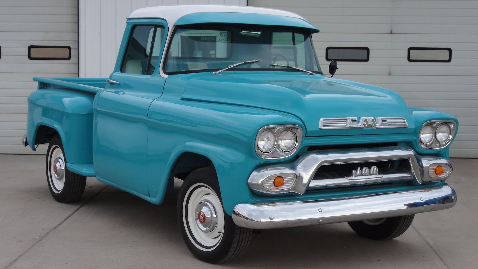 1958 Gmc 100 Presented As Lot F152 At Denver Co Classic Pickup