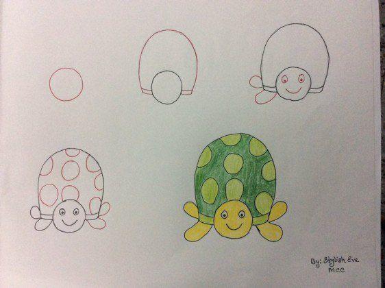Ideas De Dibujos Faciles Para Hacer Con Los Pequenos Dibujo Con