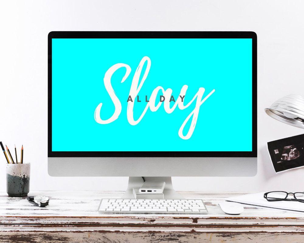 3 Sizes Desktop Wallpaper Quote Desktop Background Computer Etsy In 2021 Desktop Background Quote Desktop Wallpaper Quotes Computer Quote