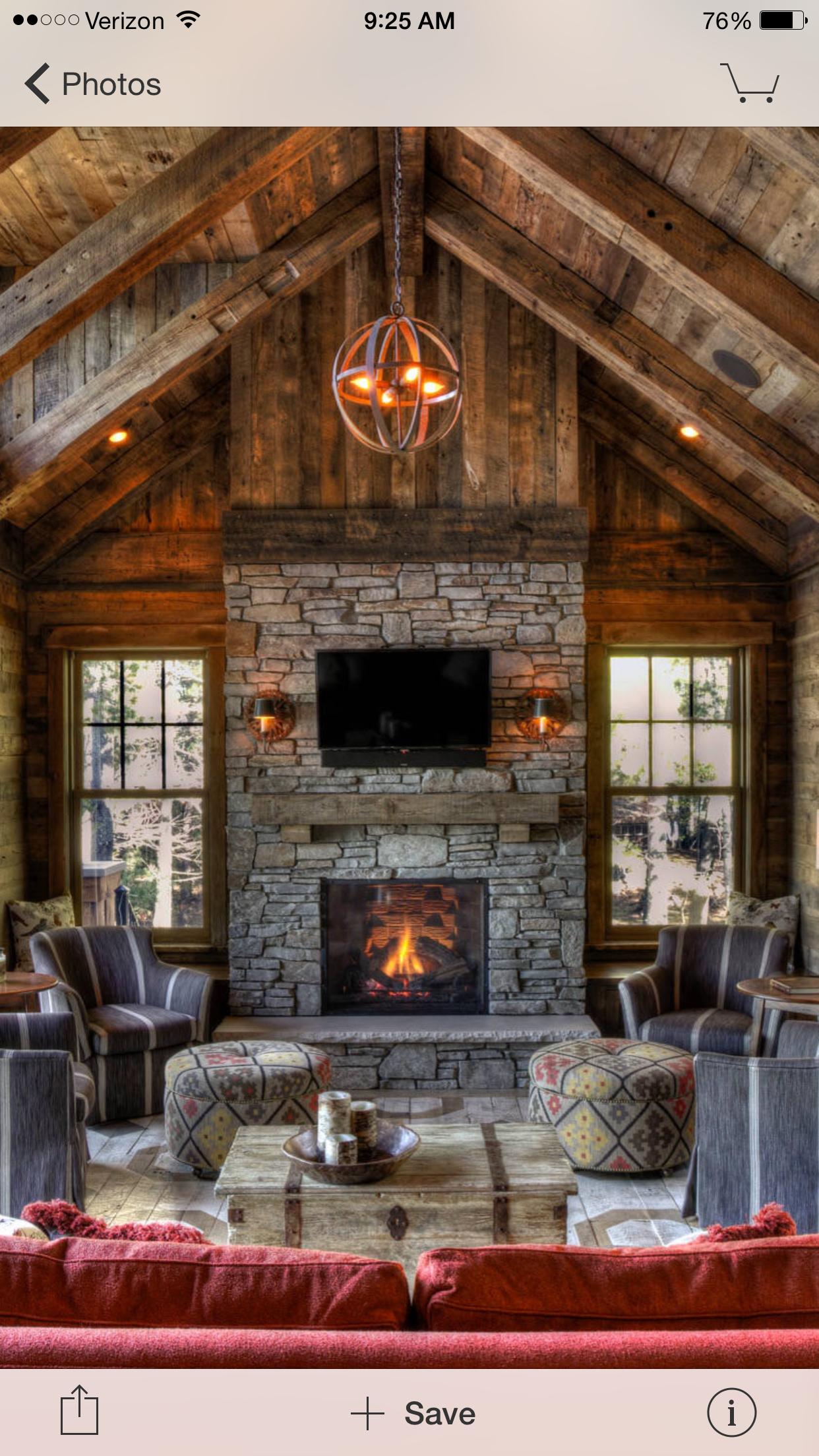 Beaiutiful timber frame home