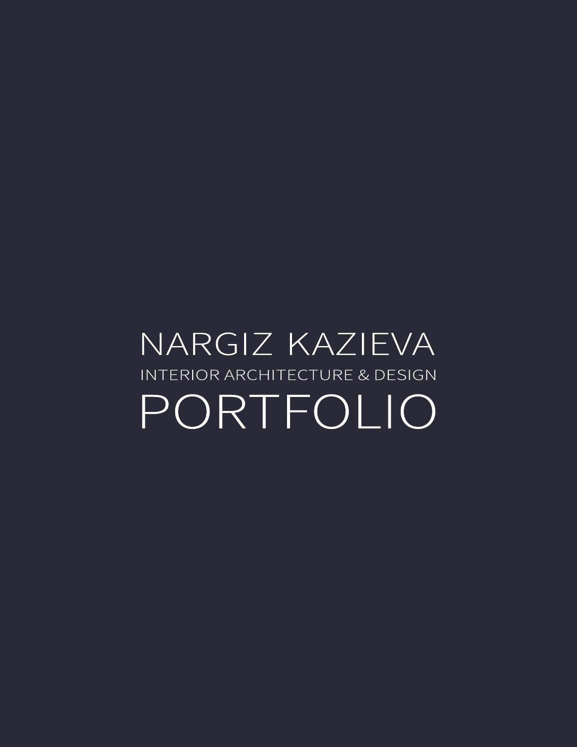 interior architecture  u0026 design portfolio