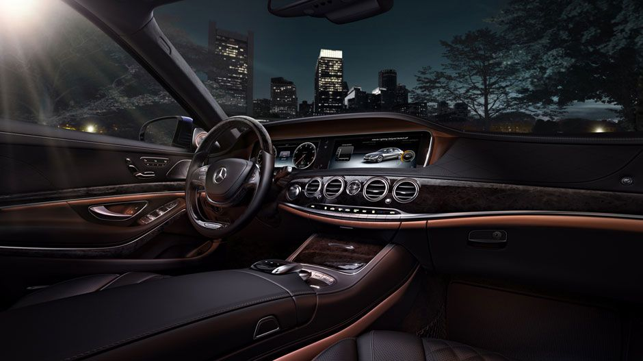 2015 Mercedes S Class With Black Exclusive Nappa Leather And Black