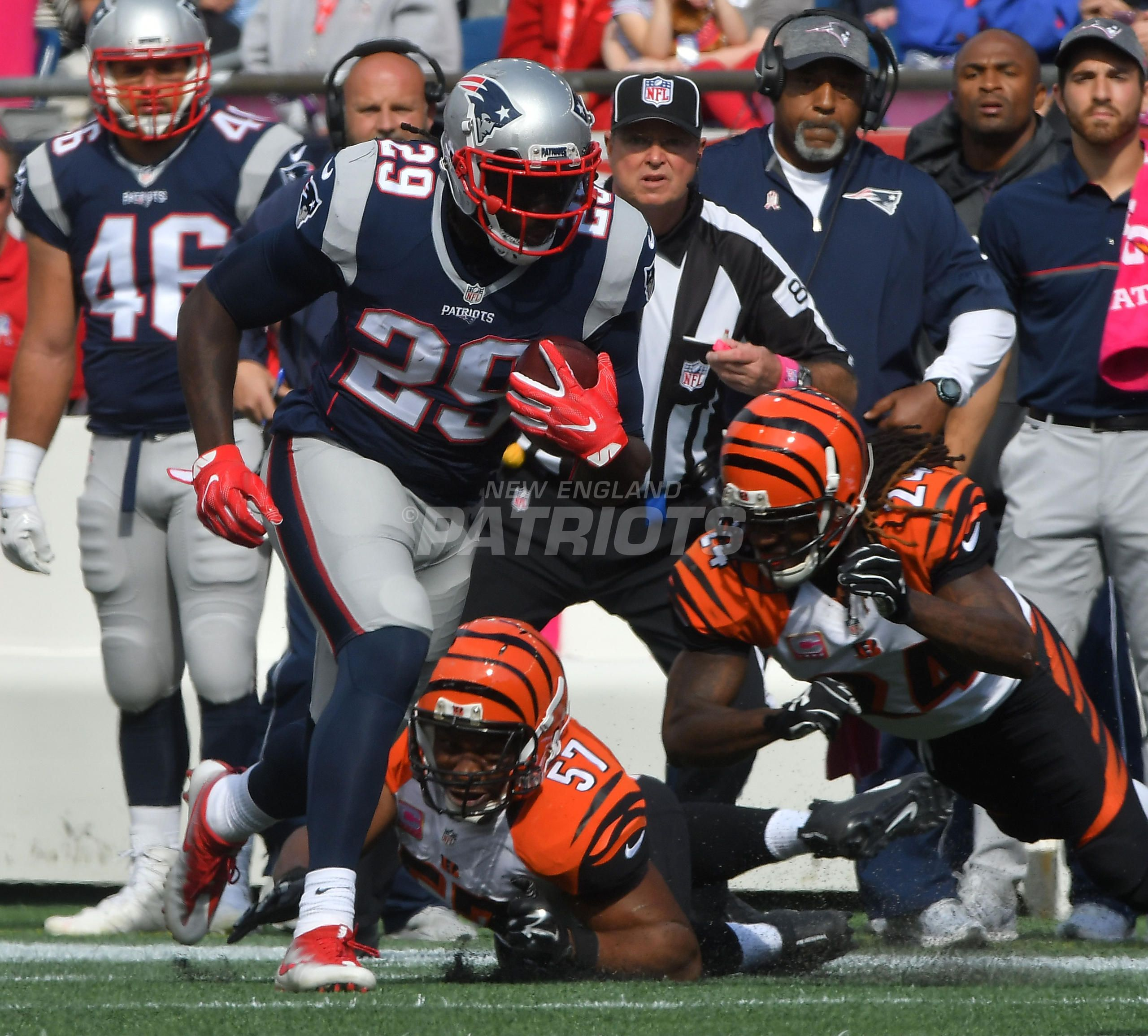 Patriots Vs Bengals Week 6 With Images Bengals Patriots New England Patriots A patriots advanced scout was at firstenergy stadium in cleveland on sunday during the browns vs. pinterest