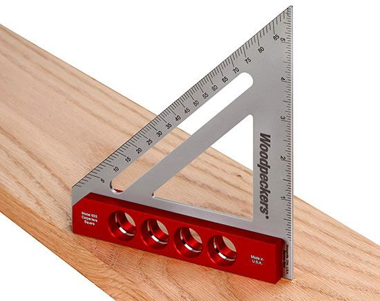 Woodpeckers 6ss Carpenters Square One Time Tool Carpenters Square Wood Tools Hand Tools