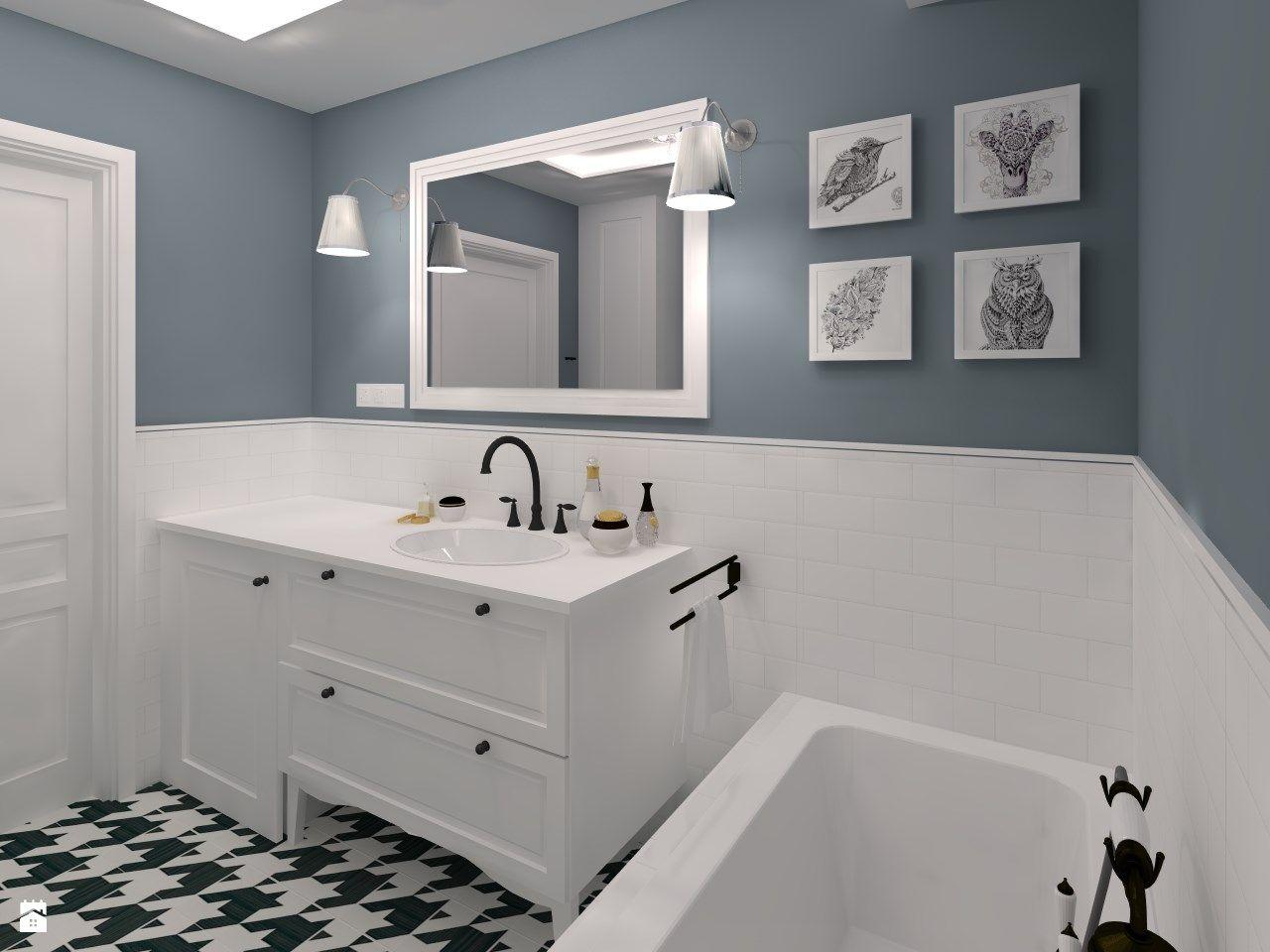 Kafelki W łazience Nie Muszą Być Białe Jak Urządzić Retro