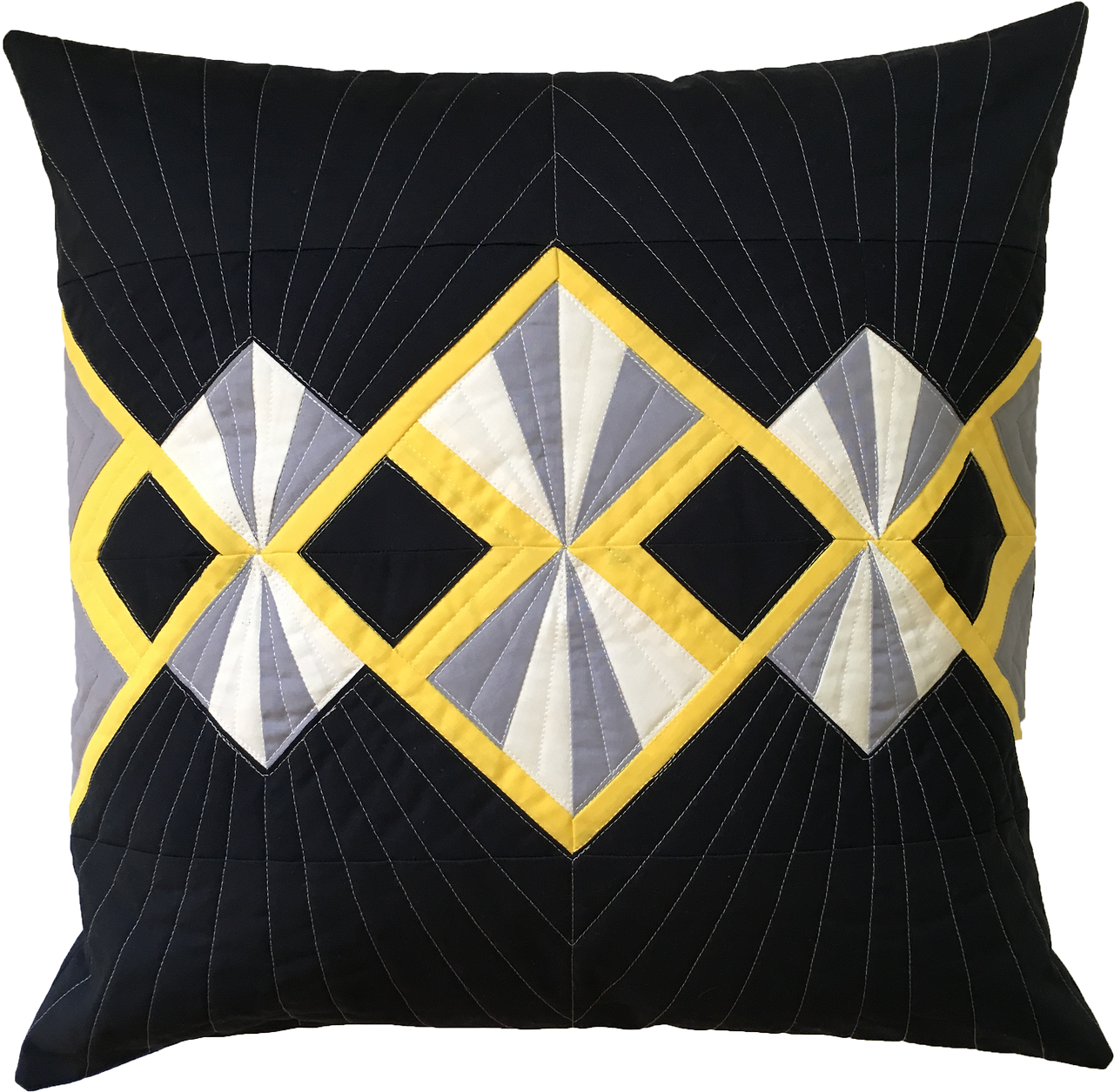 Deco Pillow: Becky from Patchwork Posse invited me to be the guest ... : online quilt designer - Adamdwight.com