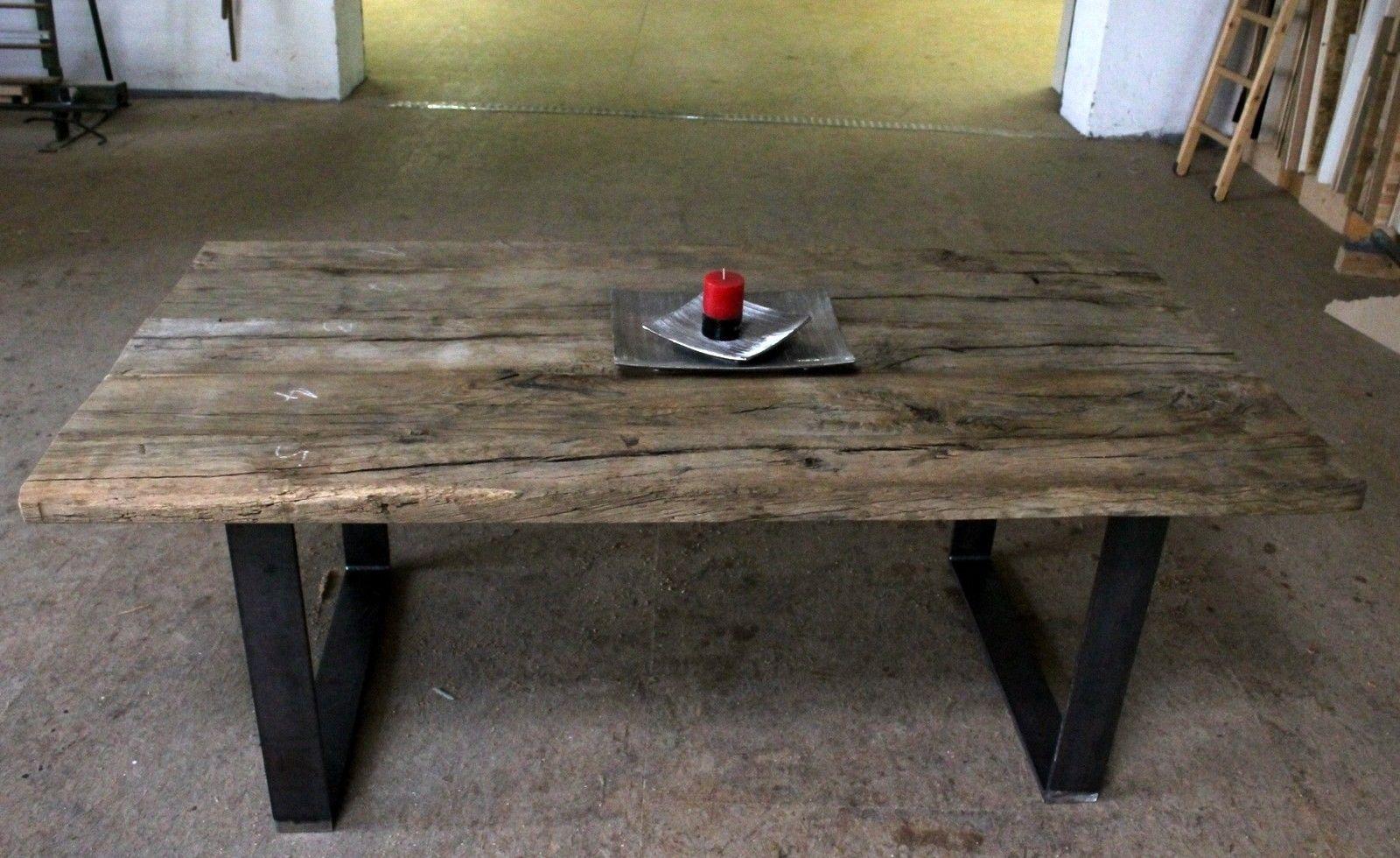Runder Couchtisch Eiche Rustikal Nachttisch Holz Massiv Full Size