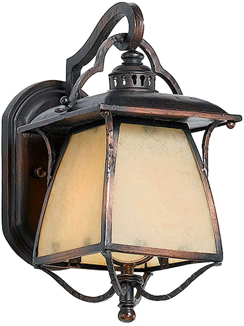 Arts And Craft Style With A Touch Of Nouveau Influence With Curving Lines Less Rigid Tha Craftsman Lighting Craftsman Decor Exterior Lighting Design