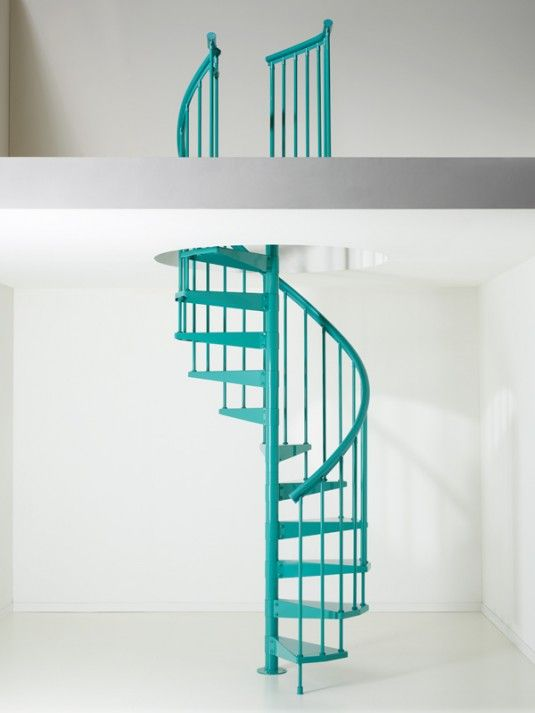 Best Fontanot Clip Spiral Stairs Stairs Colours Spiral 400 x 300