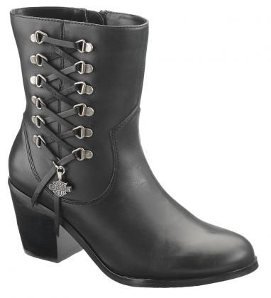 Harley Davidson Women Leather Boots