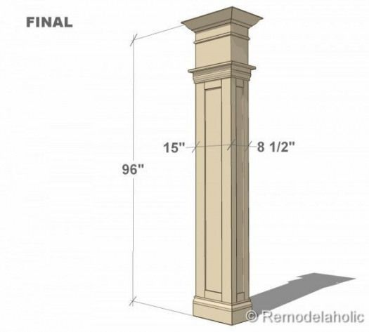 DIY Wood Working projects: Free Interior Column Plans #diywoodwork #woodworktrimwork DIY Wood Working projects: Free Interior Column Plans #diywoodwork #woodworktrimwork DIY Wood Working projects: Free Interior Column Plans #diywoodwork #woodworktrimwork DIY Wood Working projects: Free Interior Column Plans #diywoodwork #woodworktrimwork