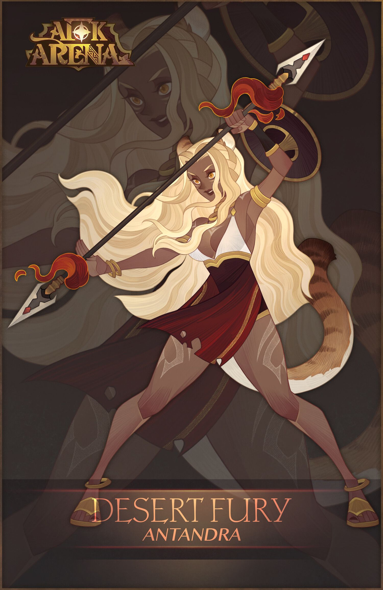 Artstation Afk Arena Characters Aric Athesis Afk Character Art Character