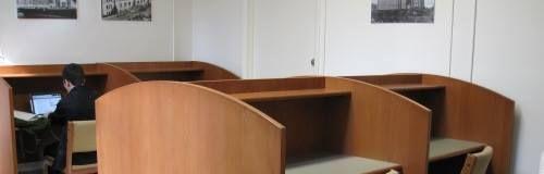 Second Floor (Graduate Study Room - Reserve Carrels)