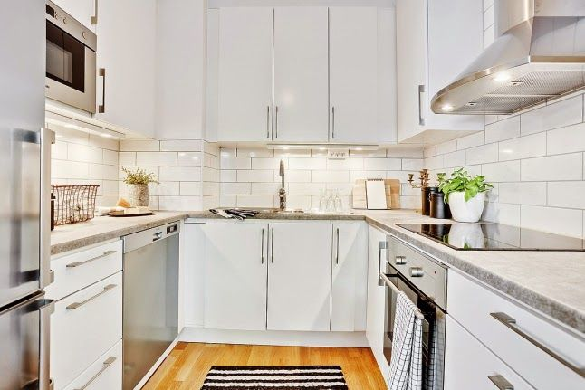 cocinas blancas grandes pequeas en l o en u modernas y clsicas