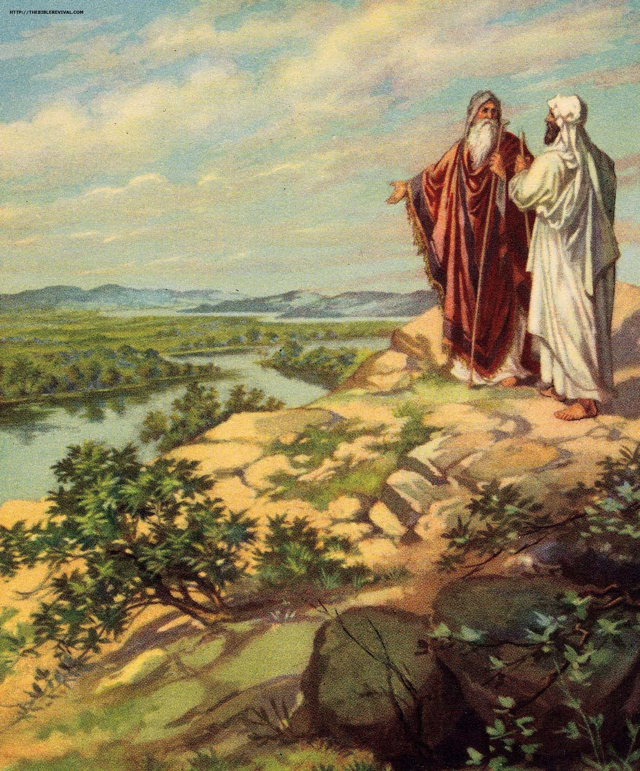 abraham and lot part ways | Biblical art, Bible pictures ...