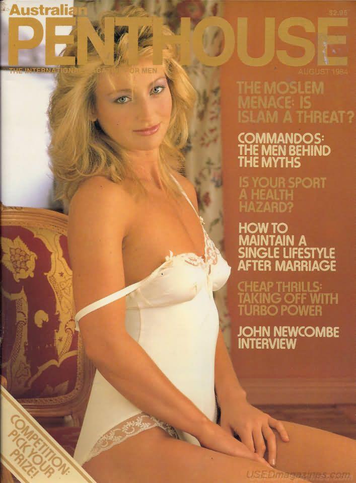 penthouse (australia) august 1984 | magazines (6) : assortment