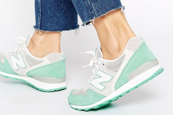 New Balance - 996 - Vert et gris pastel | Shopping Bag | Pinterest ...