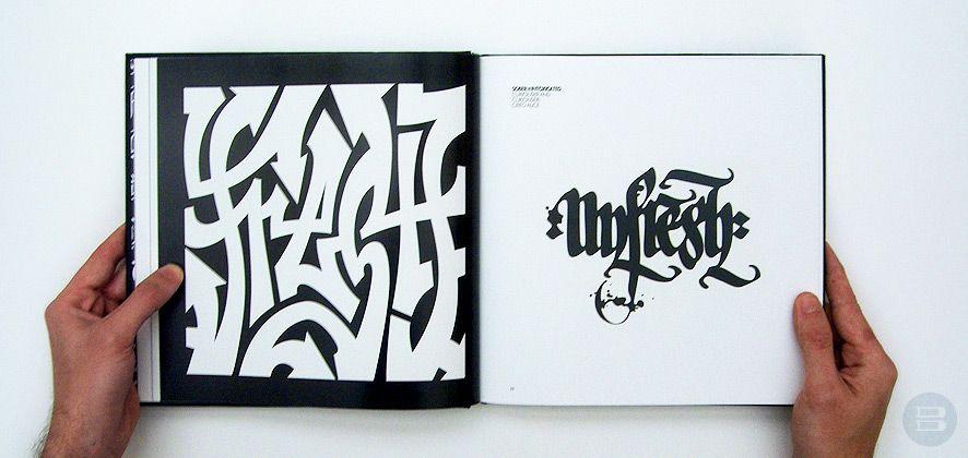 Calligraffiti Typography Book Typography Design Typography