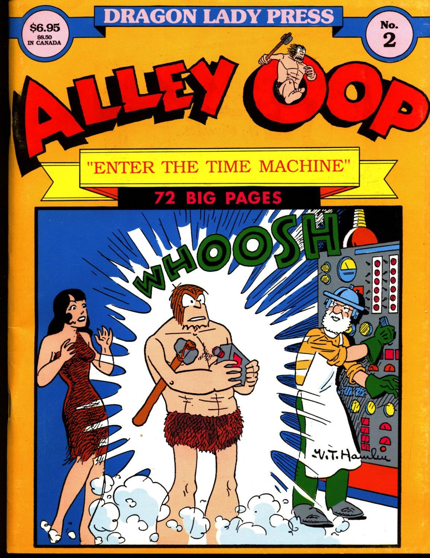 Alley oop 2 v t hamlin time machine dragon lady press