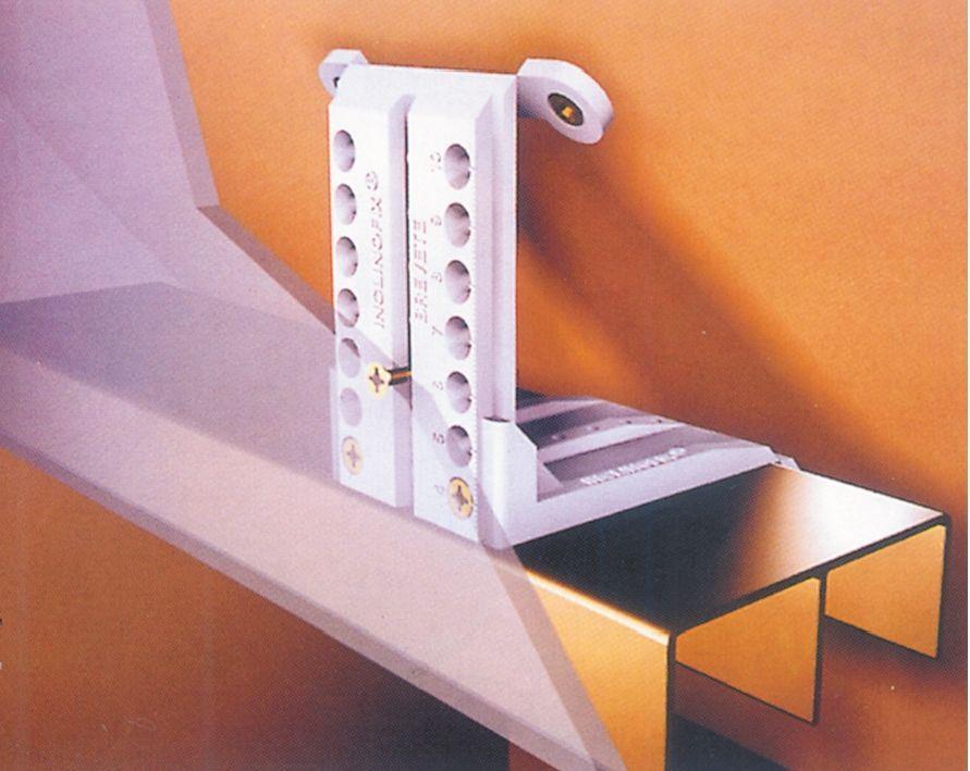 Coulissant porte intérieure bois  Inclinofix 904 Slaapkamer