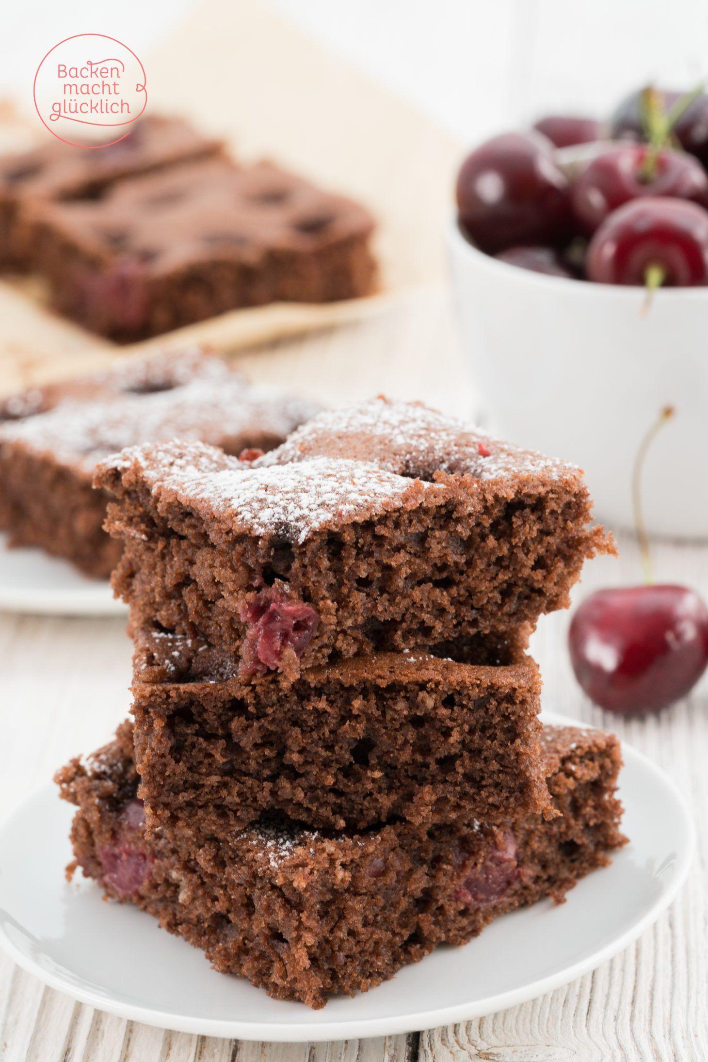 Schokokuchen Mit Früchten : saftiger schoko kirsch kuchen rezept schoko kirsch kuchen saftiger schoko kirsch kuchen und ~ Watch28wear.com Haus und Dekorationen