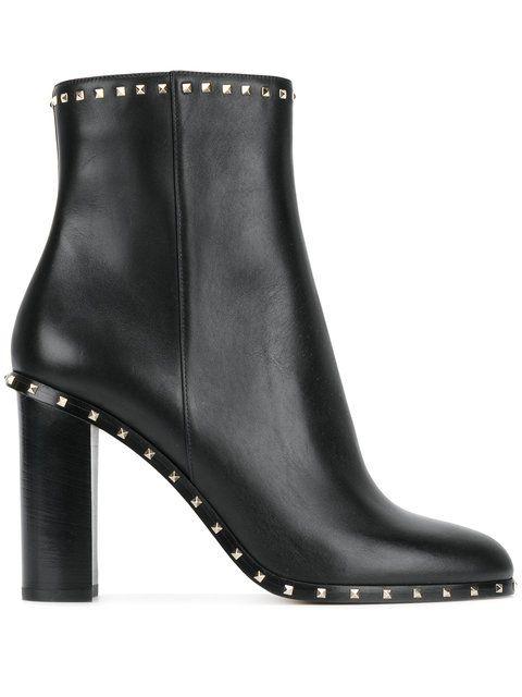 fb2d7fc78e627 VALENTINO Valentino Garavani Rockstud ankle boots.  valentino  shoes ...