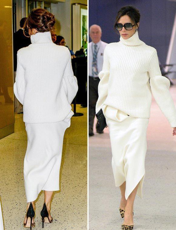 ヴィクトリア ベッカム さすがデザイナー 大人きれいめな 全身白コーデ 私服 髪型 海外セレブ セレブキッズの最新画像 私服ファッション ゴシップ ファッションスタイル ファッション ヴィクトリアベッカム ファッション