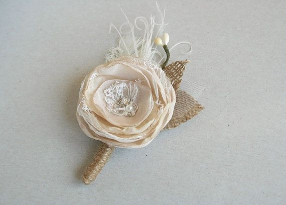 Hey, I found this really awesome Etsy listing at https://www.etsy.com/listing/229667166/groom-boutonniere-rustic-wedding