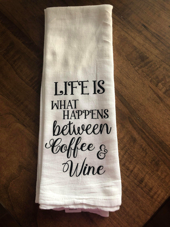 Funny quotestea towelhostesshousewarming gift etsy in