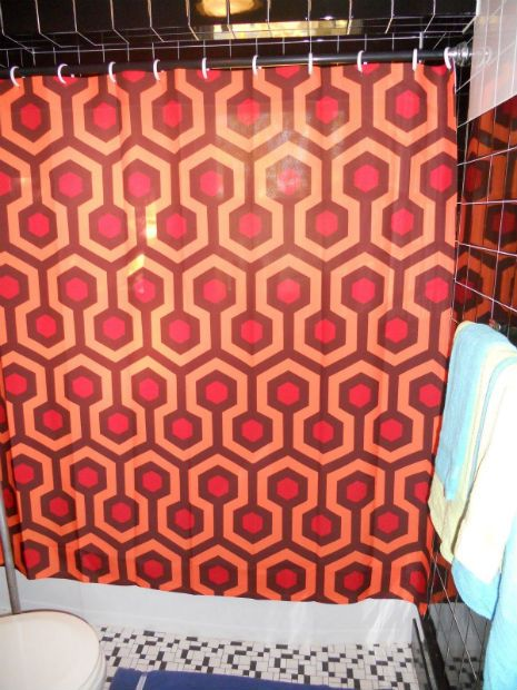 Elegant Dangerous Minds | Worldu0027s Greatest Shower Curtains, Hands Down! The Shining  Hotel Shower Curtain.