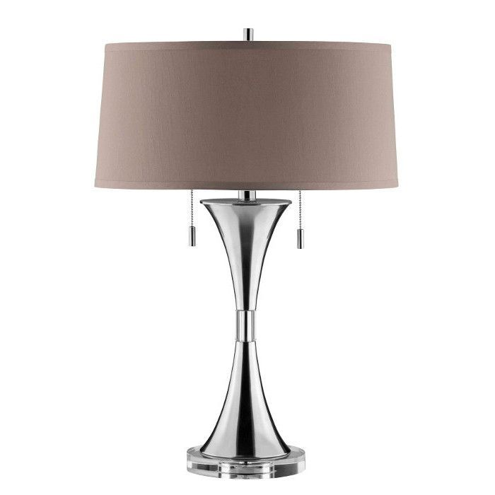 Pull Chain Table Lamp Luxurious Yet Refined This Slender Hourglass Table Lamp Combines