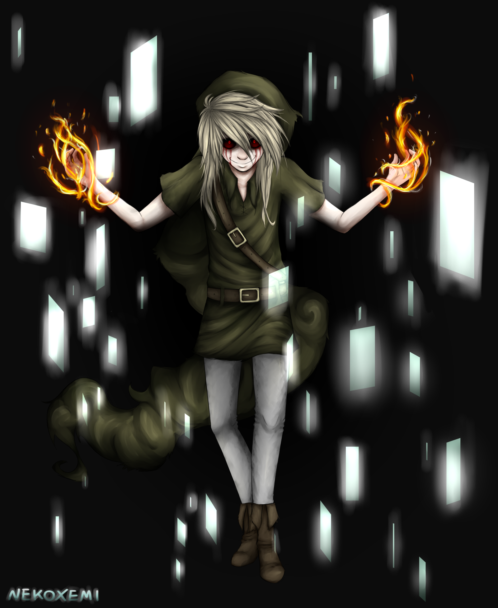 Ben Drowned|What are you doing there ? by NekoXemi.deviantart.com on @deviantART